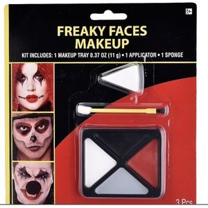 2 Packs Freaky Face Makeup Kit 3pc